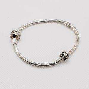 Pandora Classic Charm Bracelet box included